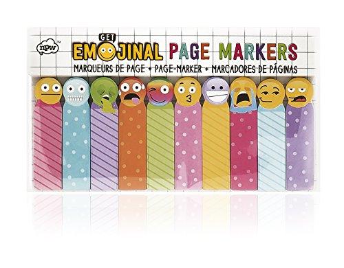 NPW Marcadores de páginas adhesivos de emoticonos - de Get Emojinal