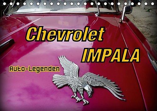 auto-legenden-chevrolet-impala-tischkalender-2017-din-a5-quer-us-oldtimer-chevrolet-impala-auf-kuba-