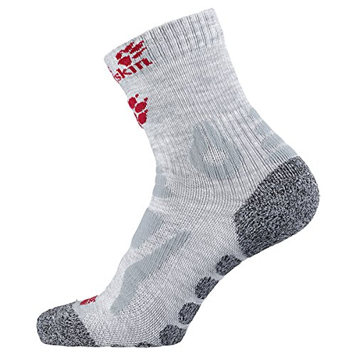 Jack Wolfskin Children's Hiking Socks Kids Pro Classic Cut grey