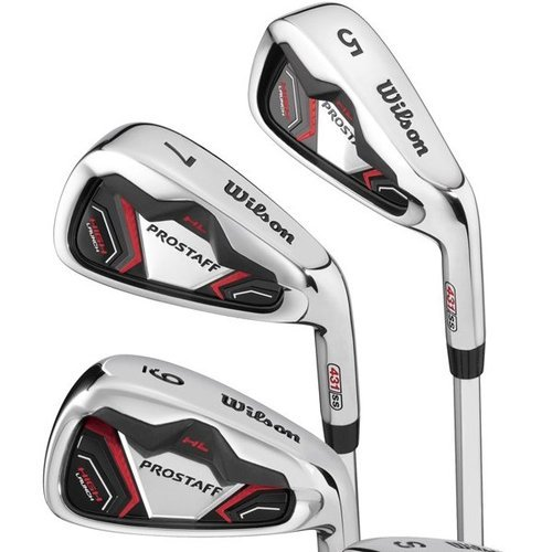 Wilson-Prostaff-HL-Mens-Complete-Golf-Club-Set-2014-Prosaff-Cart-Bag-All-Graphite-Right-Hand