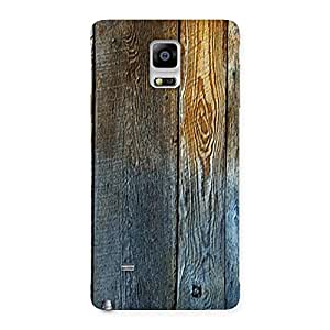 NEO WORLD Remarkable Wall Bar Wood Back Case Cover for Galaxy Note 4
