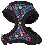 East Side Collection Hundegeschirr, Polyester, gepunktet, Größe S, Schwarz