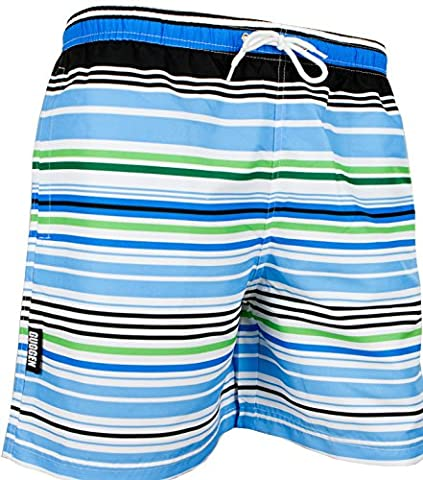 GUGGEN Men's swimming trunks out of High-Tec Material swim shorts bathing drawers bathers slip *High Quality Print* Colour striped