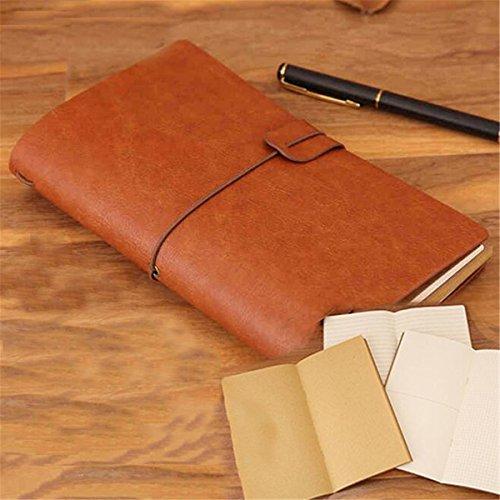 Tutoy Leder Vintage Tagebuch Reise Notebook Blank Seiten Journal Papier Buch Sketchbook