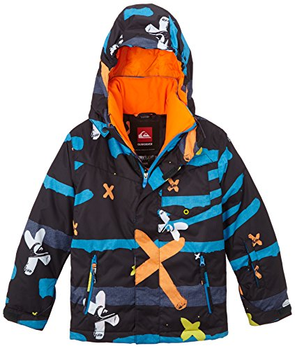 Quiksilver Snowboard-jacke Herren (Quiksilver Jungen Snowboard Jacke Mission Printed Y, Little, S, EQBTJ00024)