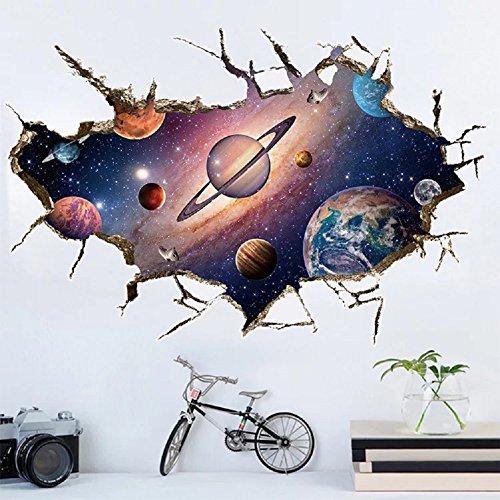 mural-sticker4u-sticker-mural-le-systeme-solaire-en-3d-effet-60-x-90-cm-univers-galaxy-planete-mars-