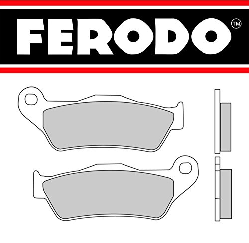 COPPIA PASTIGLIE FRENO POSTERIORI SINTERIZZATE FERODO FDB2039 BMW K 1200 GT 1200 2007 (Gt Freno Posteriore)