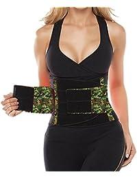 Camellias Women's Breathable Adjustable Waist Belt -- Bodyshaper Belt for an Hourglass Shaper
