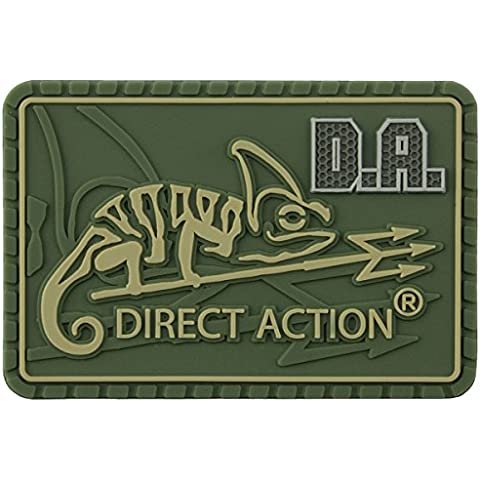 Direct Action Logo Parche Medio Oliva Verde