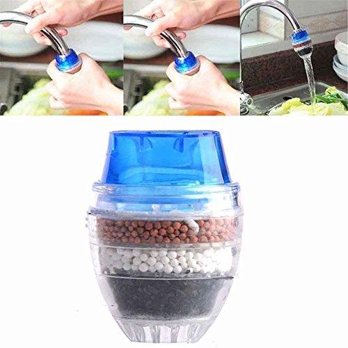 OUNONA Mini Filtre à eau de Robinet Purificateur d'eau...