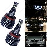 AR H880W High Power LED Angel Eyes Marcador Faro anillos de luz de posición para BMW E82E90E60E63E71M6X1X5X6Z4M3