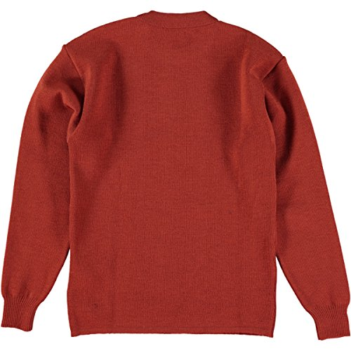 Armor Lux Pull Marin Uni Fouesnant, Maglione Uomo Rouge (Brick)