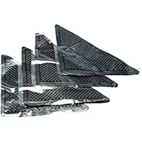 KAYI 4X Alfombra Gripper reutilizable antideslizante antideslizante agarre lavable alfombrilla de silicona alfombrilla Alfileres