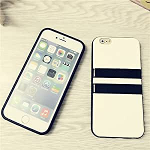 Apple Iphone Top Quality Slim Hybrid Back Leather Cover For Iphone 6 Luxury Dual Plastic Soft Case Anti-shock Book Cell Phone