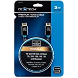 CE Tech 3 Ft. Premium High-Speed HDMI Cable With Ethernet