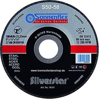10x Schruppscheibe, S54_Ø 230 x 8,0 mm, Schleifscheibe für alle Stahlbearbeitungen aller Art, Mittelhart, Premium-Qualität.
