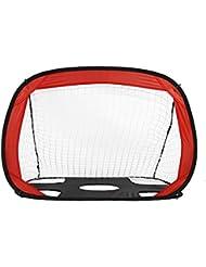 OUTAD Portería de Fútbol para Práctica ( 110 x 80 x 80cm, 210D tela de Oxford), color rojo