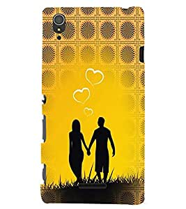 GADGET LOOKS PRINTED BACK COVER FOR SONY XPERIA T3 MULTICOLOUR