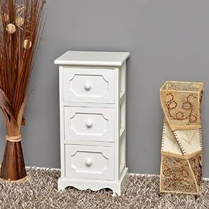 Mobiletto in legno bianco per la cucina,corridoio e per il bagno by 20