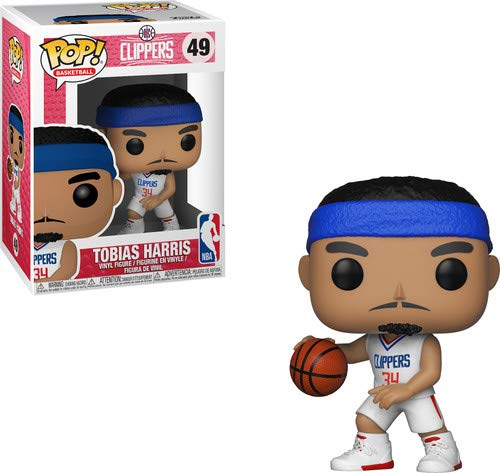 Funko Pop Tobias Harris Los Ángeles Clippers (NBA 49) Funko Pop NBA