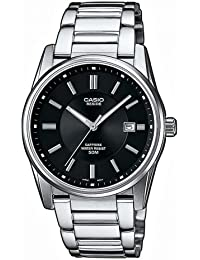 Casio Collection - Herren-Armbanduhr mit Analog-Display und Massives Edelstahlarmband - BEM-111D-1AVEF