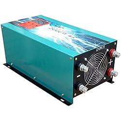 Convertisseur pur sinus 5000w onduleur 12V à 220V onde sinusoïdale pure power inverter/ UPS/Chargeur de batterie 80A