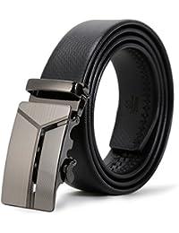 ITIEZY Herren Gürtel Ratsche Automatik Gürtel für Männer 35mm Breit Ledergürtel
