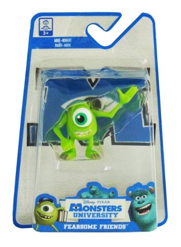 Monsters University Fearsome Friends Figur Mike, 4cm