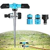 king do way Conjuntos de Riego, Kit Riego Sistema de Riego DIY para Irrigación Riego Bruma Jardín Invernadero con Conector Universal Faucet