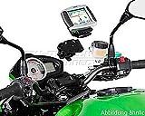GPS / Navi Halter QUICK-LOCK. Schwarz. Vibrationsgedämpft für BMW R 1200 GS K25R12 2010 bis 2011