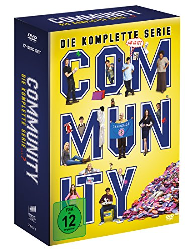 Community - Die komplette Serie (17 Discs) - Dvd Mad Tv-season 5