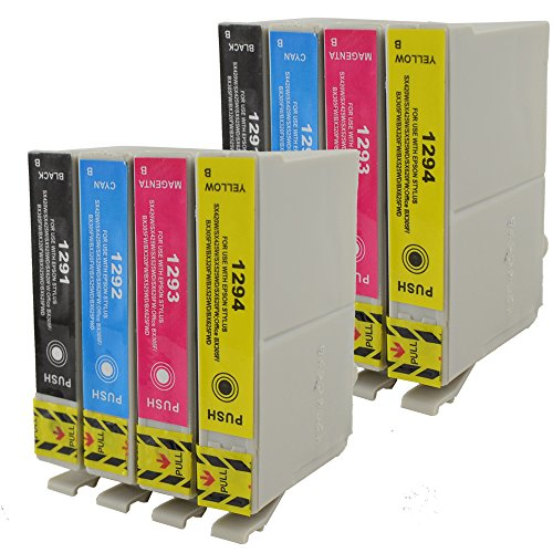 BEST VALUE Compatible Epson T1295 Ink Cartridges: