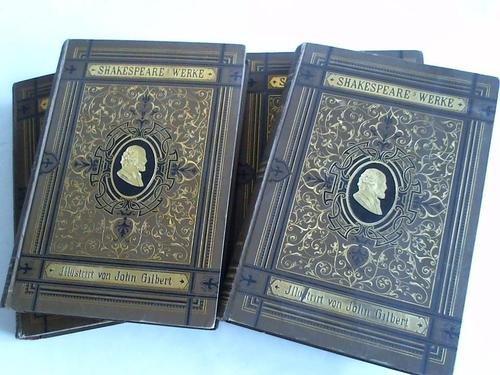 Shakespeare's Werke. 4 Bände