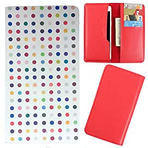DooDa - For Karbonn A40 Plus PU Leather Designer Fashionable Fancy Case Cover Pouch With Card & Cash Slots & Smooth Inner Velvet