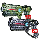 Light Battle Lasertag Kinder Spielzeug: 4X Active Lasertag Pistole - Best Reviews Guide