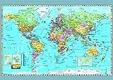 Dino Giocattoli 532489Puzzle Mondo Mappa Politica Giocattolo