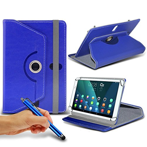 (Blau) Samsung Galaxy Tab E [8 Zoll] Case [Cover StŠnder] fŸr Samsung Galaxy Tab E [8 Zoll] Tablet PC Kasten-Abdeckung [Standplatz -hŸlle] strapazierfŠhigem Synthetik-PU-Leder 60 Roatating Abdeckung Tasche Fall hŸlle [Standplatz -hŸlle] mit 4 Federn von i - Tronixs (Tablet Samsung 8-zoll-abdeckung)