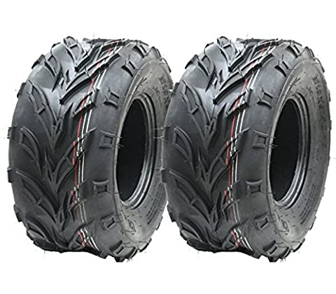 2 - 18x9.50-8 ATV tyre Quad trailer 18 950 8 tire Dirt trail E marked road legal