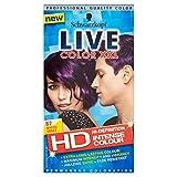 3 x Schwarzkopf Live Color XXL Colour Intense Permanent Coloration 87 Mystic Violet