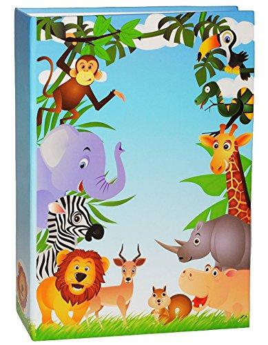 einsteckalbum-zootiere-giraffe-gebunden-zum-einstecken-gro-fr-bis-zu-200-bilder-10x15-fotoalbum-foto