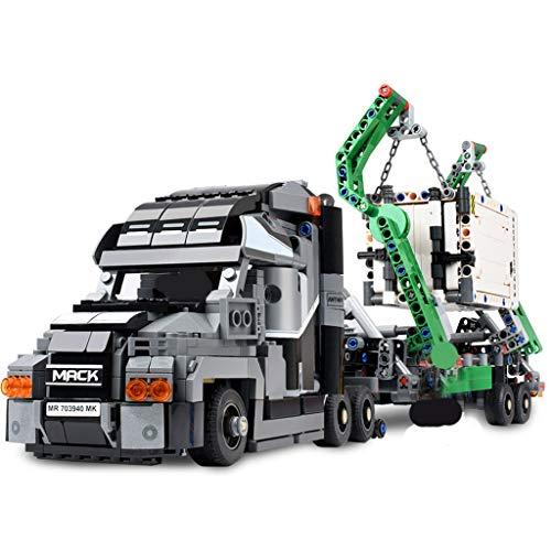 Camion porte-conteneurs Véhicule Bloc de construction...