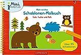 Mein erstes Schablonen-Malbuch: Eule, Fuchs und Reh (Mini-Künstler)