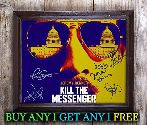 Kill The Messenger Film Cast Autographed Signed 8x10 Photo Reprint #52 Special Unique Gifts Ideas for Him Her Best Friends Birthday Christmas Xmas Valentines Anniversary Fathers Mothers Day