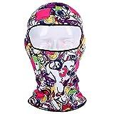 Colorful(TM) Sturmmaske, Skimaske, für Radfahren, Motorrad Dünne 3D Outdoor Radfahren Ski Balaclava Hals Kapuze Vollgesichtsmaske Hut Mütze Tier (F)
