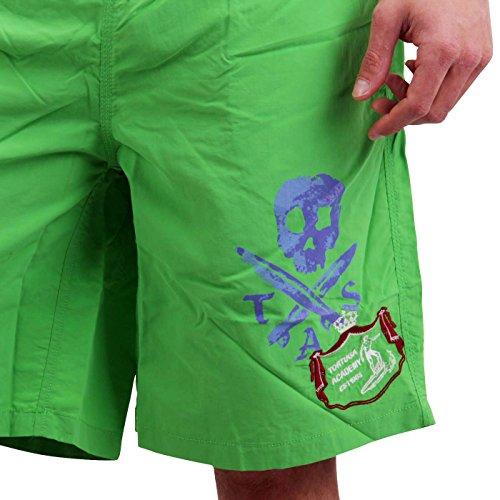 TORTUGA Herren Bade Shorts Prato Green 10E6100U953 Green