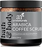 Art Naturals Café gommage scrub - exfoliant - (8,8 oz/250ml)