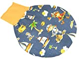 Baby Schlafsack für 0-6 Monate - Fußsack Strampelsack Motiv: Piraten