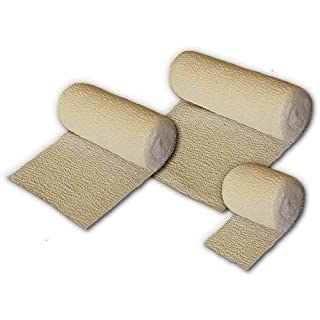 PlusPowerPlast Crepe Bandages Official First Aid - All Sizes
