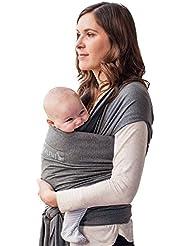 Portabebés 100% Orgánico, Fular Para Bebé, Niños Pequeños, Recién Nacidos, Portabebé Respirable, Algodón Orgánico Certificado, Pañuelo Ergonómico, Bandolera, Alternativa A La Mochila, Por Laleni