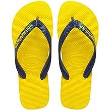 Havaianas Unisex-Erwachsene Looney Tunes Zehentrenner, Gelb (Citrus Yellow 2197), 43/44 EU